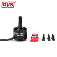 DYS 4 Pieces MR1407 Motor 4300KV 3 4S Brushless Motor Hollow Shaft Motor For FPV Racing Frame