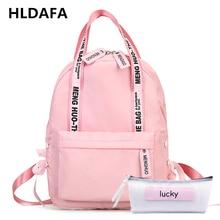HLDAFA 2019 Fashion Large Capacity Backpack Women School Bags For Teenagers Female Nylon Travel Bags Girls Preppy Gift Mochilas все цены