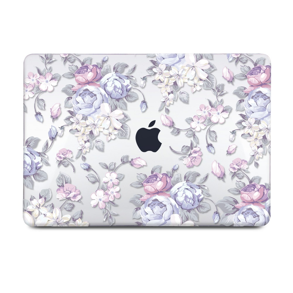 Floral Printing Hard Case for MacBook 125