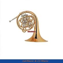 Новейший Bb французский рог золотой лак-диаметр 12 мм колокол 290 мм и с чехлом