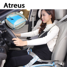 Atreus Pregnant Women Care Belly Car Covers Seat safety Belts for Mercedes w203 w204 AMG Benz Peugeot 307 206 308 Opel Astra h j