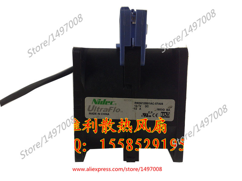 Free Shipping For Nidec R60W12BS1AC-07A05  DC 12V 1.2A 8-wire 60mm, 60x60x56mm Server Square fan free shipping 10pcs cs4221 bs