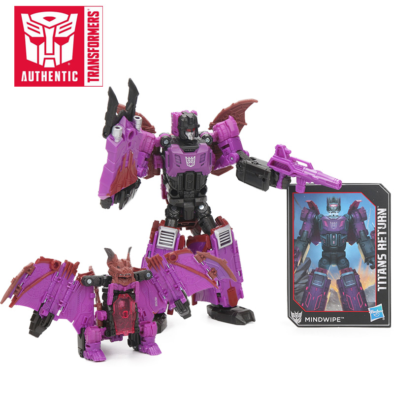 13cm Transformers Toys Titans Return Wolfwire Mindwipe Highbrow Scourge PVC Action Figures Collection Model Dolls Toys for Boys