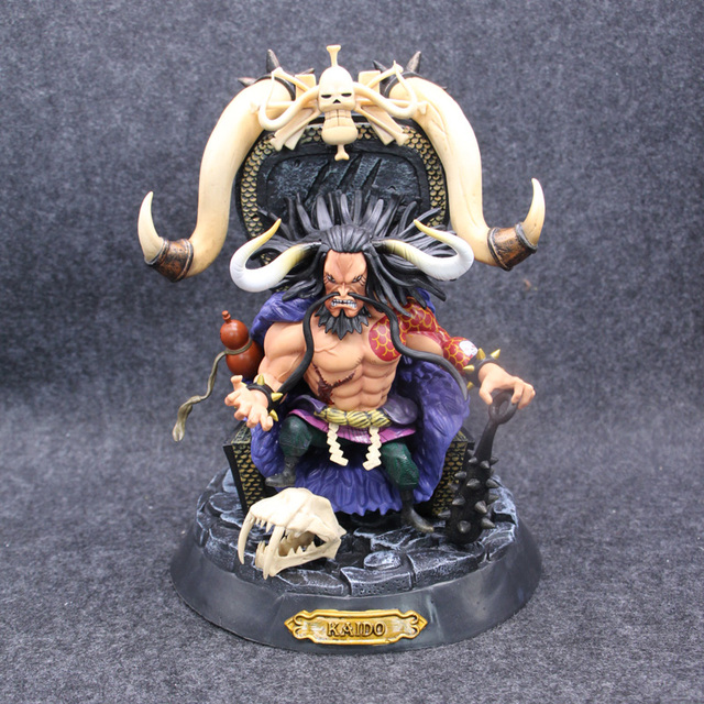 Anime One Piece Kaido Four Emperors PVC Action Figure