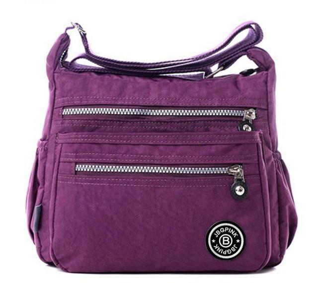 Fashion Women Shoulder Bag 2017 New Casual lolita  Nylon Bag Shoulder Messenger Multilayer Bags Women Bag Bolsos sac a main