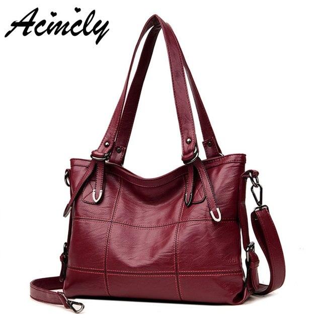 f4a8a71b1395 Hot Luxury Handbags Women Bags Designer Top-Handle Bags For Women 2018  Casual Tote White Bag Bolsa Feminina Sac Femme 5601 o