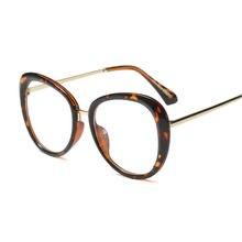 Oval Do Vintage Transparentes Óculos de Armação Homens Mulheres óculos para  Homem Óculos de Nerd Quadros 1c421b593d