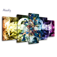 5 Planes Wall Painting Kingdom Hearts Painting Art Prints Pictures Canvas Art Painting Nordic Posters Wall