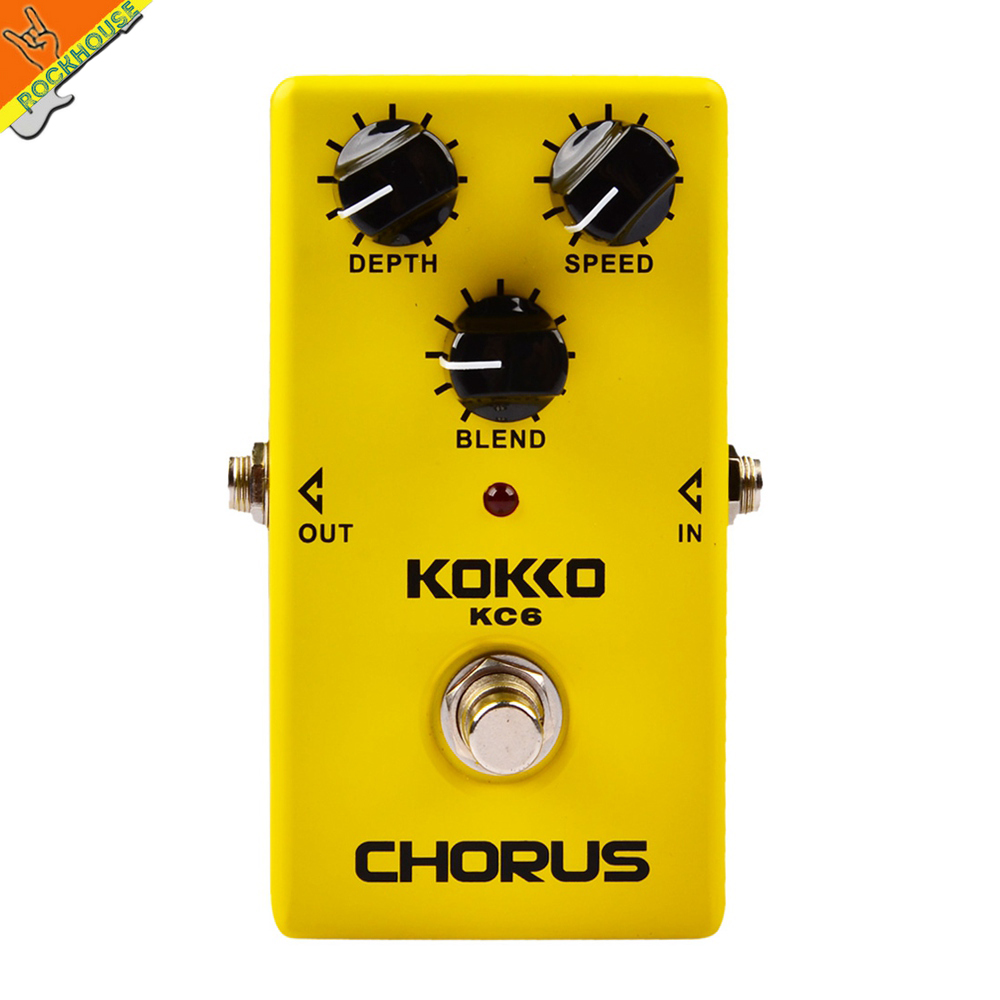 KOKKO Analog Chorus Guitar Effects Pedal Chorus Guitarra Stompbox Warm and Smooth Sound True Bypass Free Shipping nematode parasite infesting lizard and their physiological effects