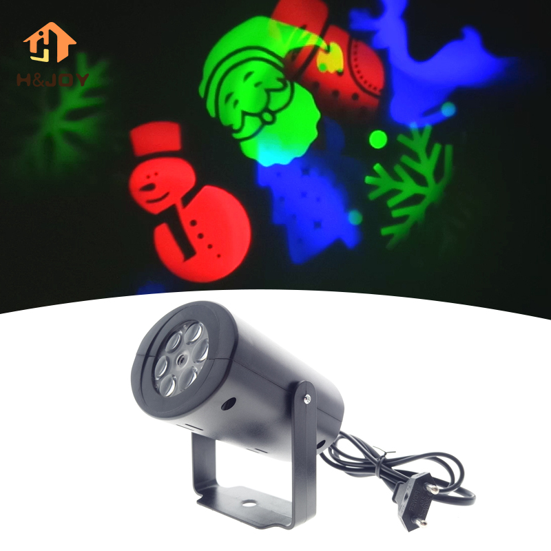 Christmas Projector Light LED Stage Light Laser Projector Lamps Halloween Landscape Light Garden Lamp Patten Projector Light