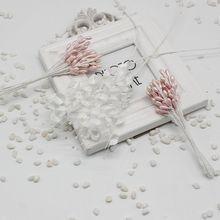 Бесплатная доставка 10 шт./партия искусственная ягода Cherry красный тычинки жемчужные свадебные имитируют стекло DIY Свадебные украшения дома