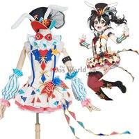 Любовь в прямом эфире школа идол проект Ядзава Нико цирк Необычные платья равномерное наряд аниме Костюмы для косплея