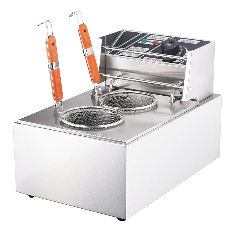 220V Fast Heating ELectric Commercial Noodle Cooking Machine 2 Cylinder Multifunctional Oden Cooking Machine Furnace EU/AU/UK