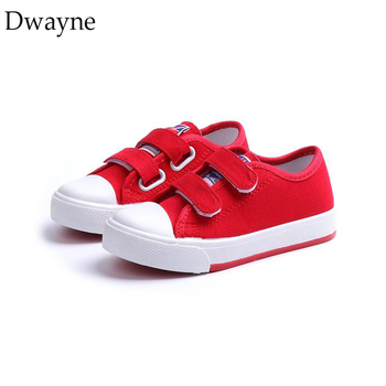 Kids Casual Canvas Shoes 2019 Spring Girls Sneakers Children Sport Shoes Boys Running Sneskers Toddler Kids Flat Shoes Baby Red children canvas shoes fashion casual boys sneakers breathable girls flat shoes toddler baby kids shoes tenis infantil sapato
