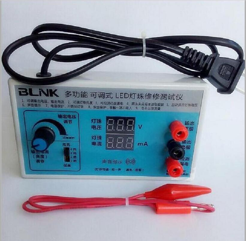 AC 220V EU Plug Screen Led Backlighting LED Tester LCD TV LED Backlighti Tester Lamp Beads Light Board LED Light Tester