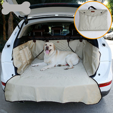 JORMEL Dual-use Soft SUV Car Trunk Mat Pet Dog Seat Cover Barrier Protect Floor from Spills and Nail Scratches