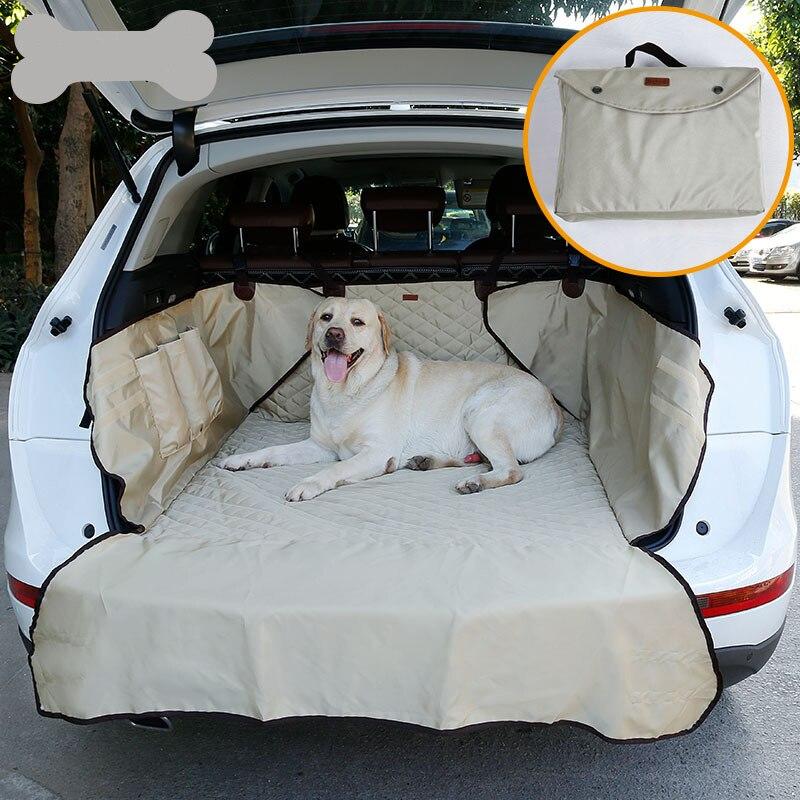 JORMEL double usage doux SUV voiture coffre tapis Pet chien siège de voiture couverture Pet barrière protéger le sol de la voiture contre les déversements et les rayures des ongles pour animaux de compagnie
