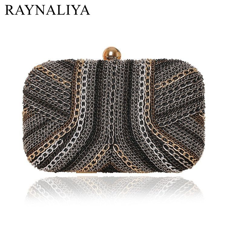 где купить Knitted Mixed Candy Color Diamonds Women Evening Bags Metal Day Clutches Purse Evening Bag Small Wedding Handbags SMYXST-E0025 дешево