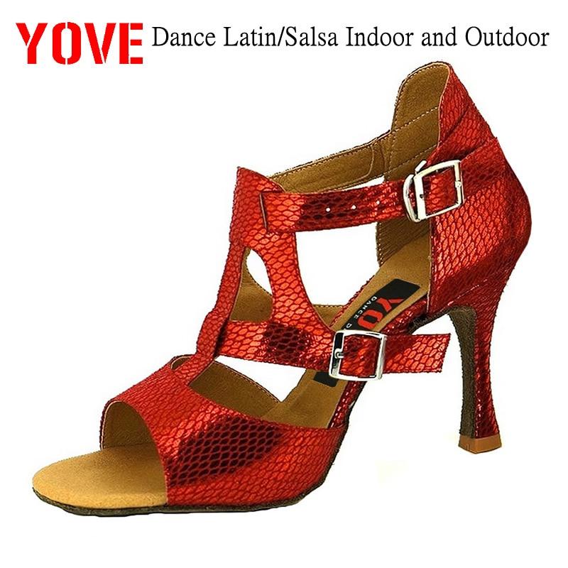 Zapatos YOVE Style w122-32 Zapatos de baile Bachata / Salsa Zapatos - Zapatillas - foto 1