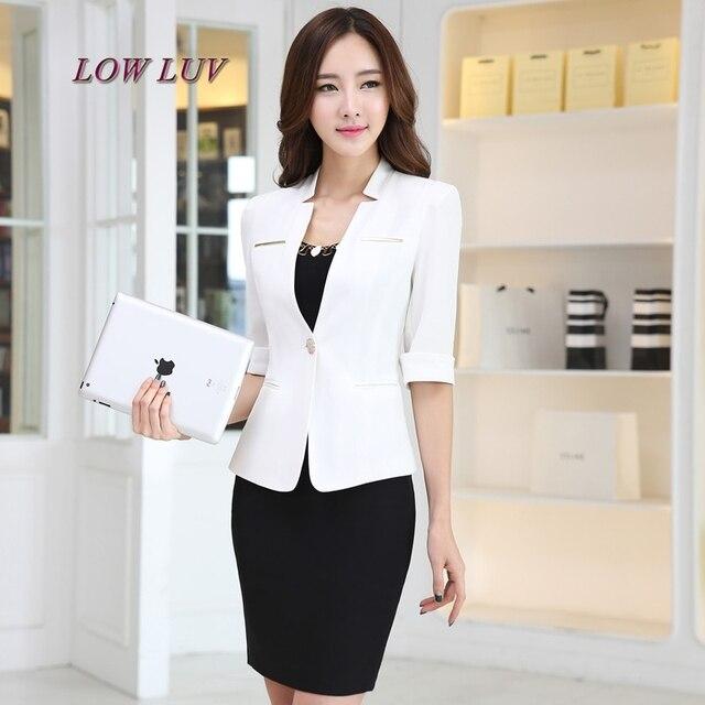 cae7d0d8c128 1pcs Women s Plus size jacket blazers 2017 Summer Cotton blended small Suit  Jackets ladies Skinny slim fit blazers Coats girls