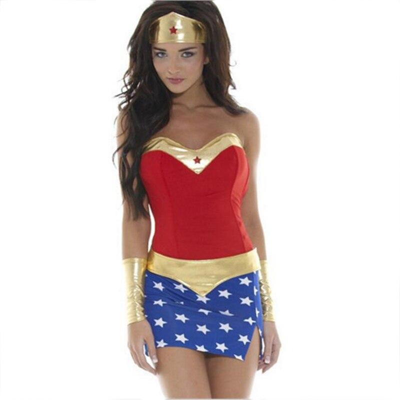 Naughty Wonder Woman Costume