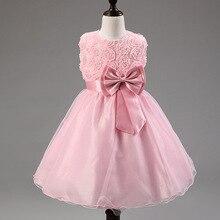Kids Dresses For Girls Girl Dress Summer High grade Wedding Dresses Children Embroidered Party Dresse Bridesmaid