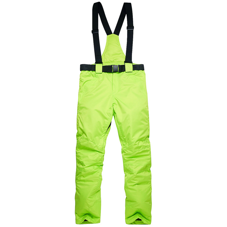цена на Warm Ski Pants Winter Outdoor Sports Pants High Quality Winter Colorful Skis Trousers Plus Size Snowboard Pants