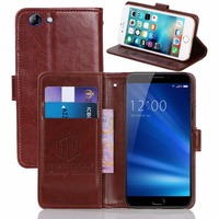 GUCOON Vintage Wallet Case For UMIDIGI C Note 2 5 5inch PU Leather Retro Flip Cover