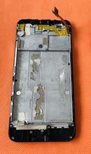 شاشة LCD أصلية قديمة + شاشة لمس + إطار لـ UMIDIGI C NOTE 2 MTK6750T ثماني النواة 5.5 بوصة FHD شحن مجاني