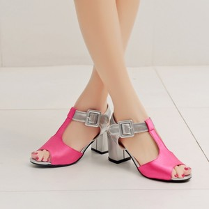 Image 3 - 2017 Time limited Fashion Ladies Shoes Wedge Plus Size Shoes Women Sandals Sapato Feminino Summer Style Chaussure Femme T508