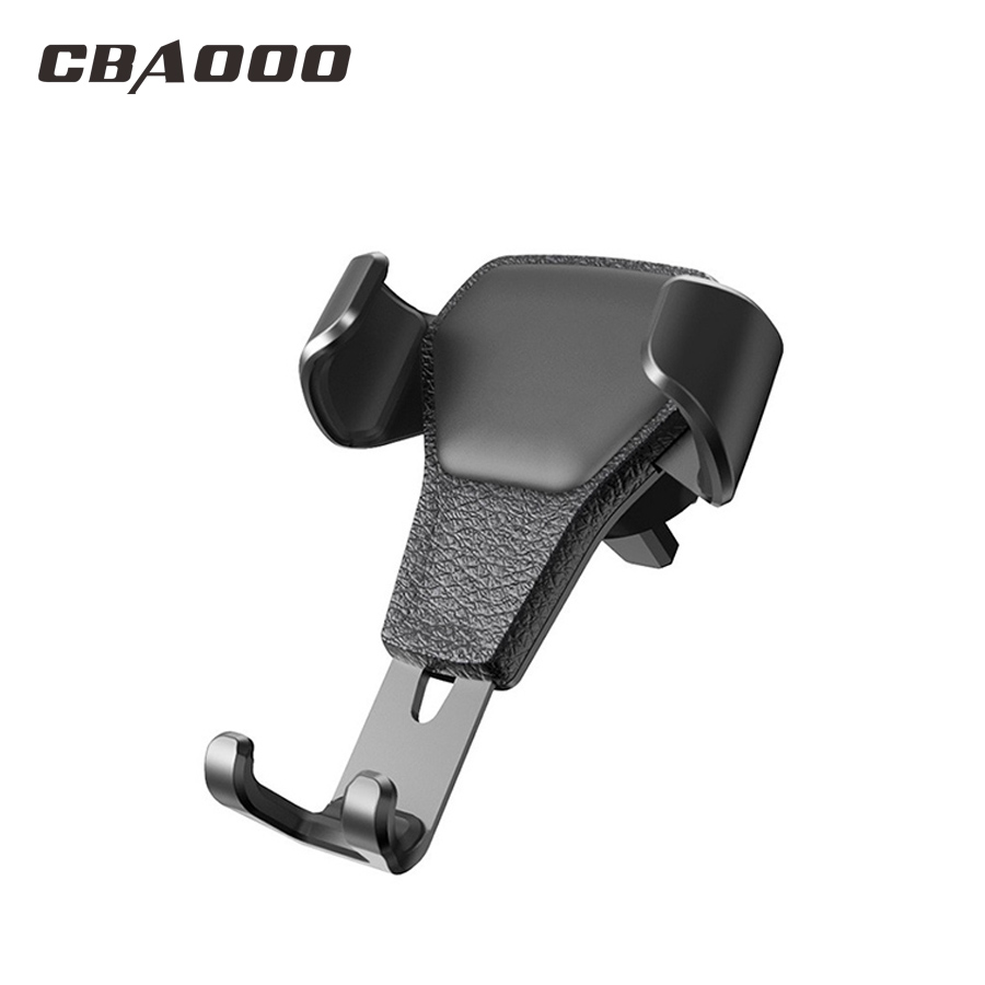 Gravity Car Phone Holder For IPhone X Xiaomi Huawei Holder For Phone In Car Universal Car Holder Stand Air Vent Mount Bracket