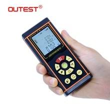 OUTEST Digital Laser Distance Meter 40m/60m/80m/100m Laser Rangefinder trena laser Diastimeter Measure Roulette цена