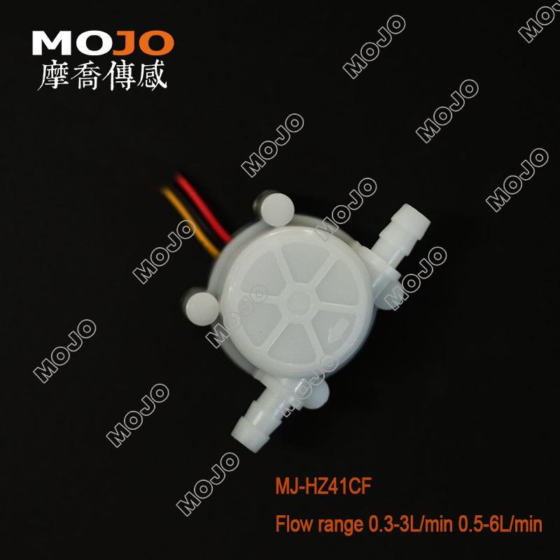 MJ-HZ41CF vandens srauto jutiklis 0,3-3l / min. Jungiklio skaitiklio - Matavimo prietaisai - Nuotrauka 5