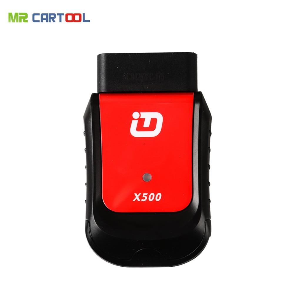 Новое поступление xtuner X500 Bluetooth Special Функция инструмент диагностики работает с Android Phone/pad