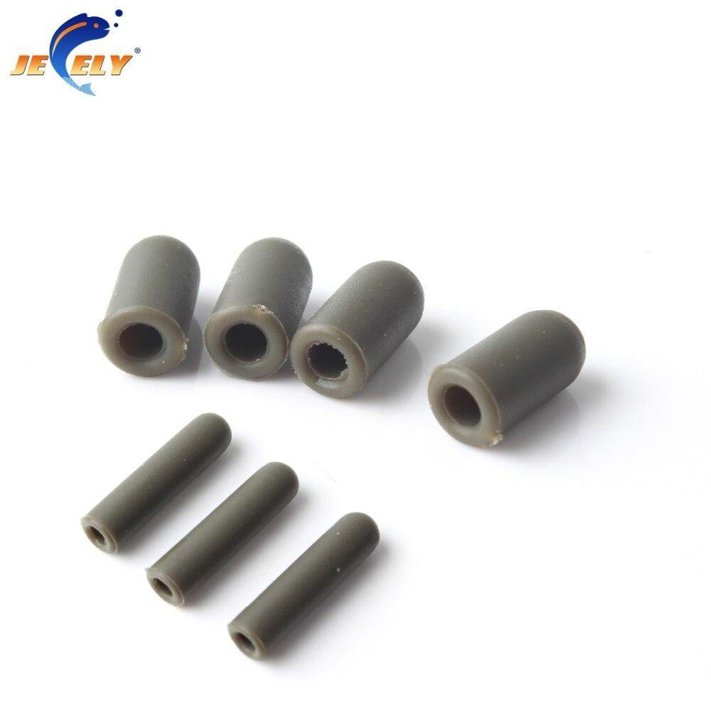 Spedizione Gratuita 6x12mm/6x25mm tipo T di plastica tubo di gomma manica carp terminal tackle 50 pz & 100 pz