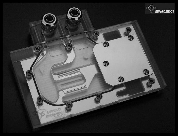 Bykski N-GV77-X Full Cover Graphics Card Water Cooling Block for GIGABYTE GTX770 OC GIGABYTE GTX760 OC bykski n ich97b x for inno3d gtx960 gtx970 gtx760 water cooling block