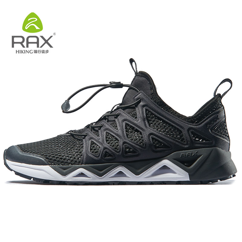 RAX Aqua Shoes Men for Summer Upstreams Shoes Quick-Drying Fishing Shoes Men Lightweight Water Walking Shoes Breathable 451 merrto 2016 new brand women beach water aqua shoes upstream fishing wading shoes water breathable sneakers 18376 1