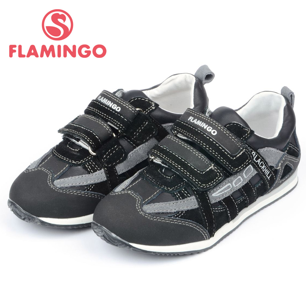 FLAMINGO 100% Russian Famous Brand 2015 New Arrival Spring & Autumn Kids Fashion High Quality shoes FP4304