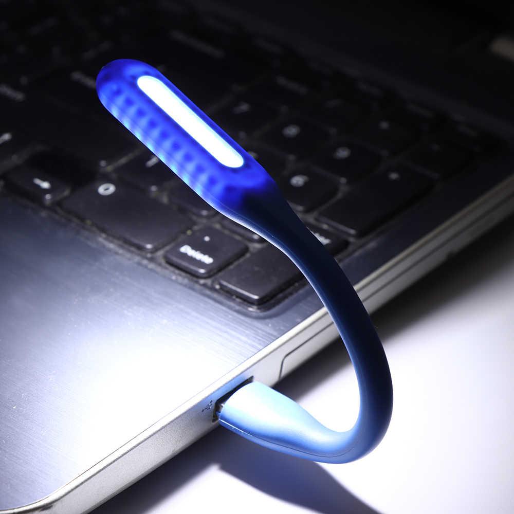 Đa Năng Nhiều Màu Mini USB Đèn LED Máy Tính Đèn Xách Tay Máy Tính Laptop Đọc Sách Ban Đêm Tự Động Phụ Kiện Ô Tô Tạo Kiểu Vật Trang Trí