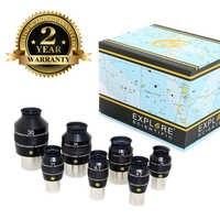 Explore Scientific EMD Coatings Eyepiece 82 degree Waterproof 1.25inch 4.7mm 6.7mm 8.8mm 11mm 14mm 2inch 18mm 24mm 30mm
