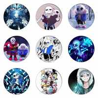 Undertale Sans Cosplay Badges Papyrus Brooch Clothing Icon Collection Breastpin for Backpacks Clothes