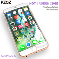 PZOZ tempered glass full cover screen protector for iphone 6 s 6plus iphone6 s film 9h color 3D Anti Blue Light glass