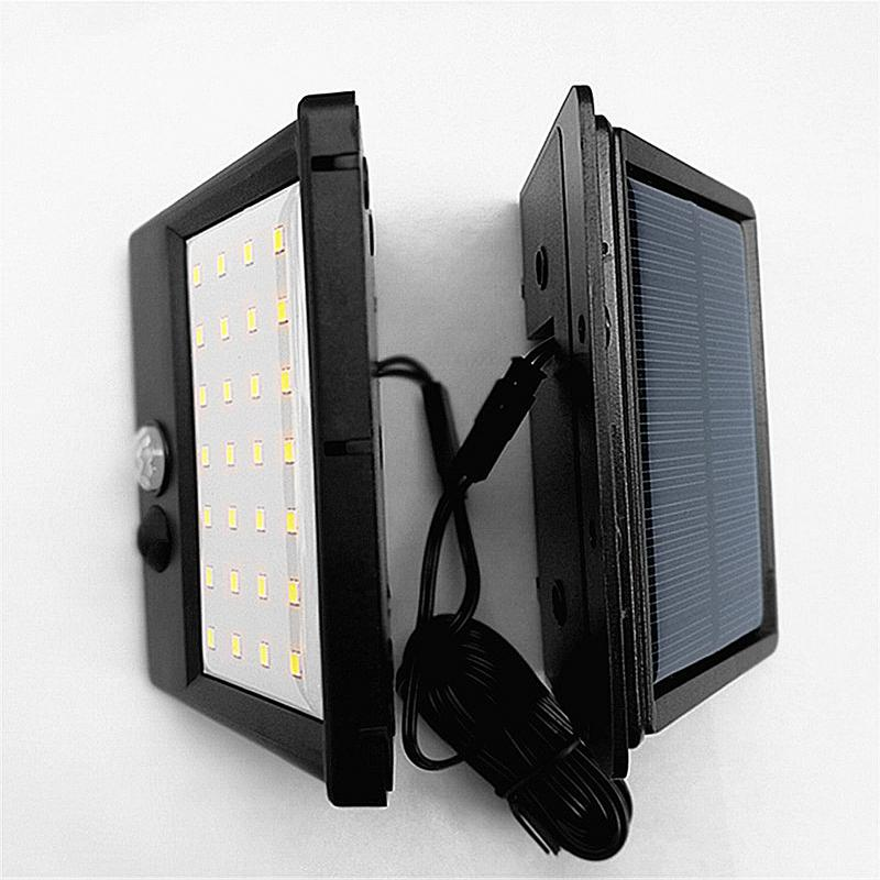 28 LEDs 220MAH Split Solar Powered Light Bulb PIR Motion Sensor 3 Modes Waterproof Separate Garden Street Night Lamp Wall Light28 LEDs 220MAH Split Solar Powered Light Bulb PIR Motion Sensor 3 Modes Waterproof Separate Garden Street Night Lamp Wall Light