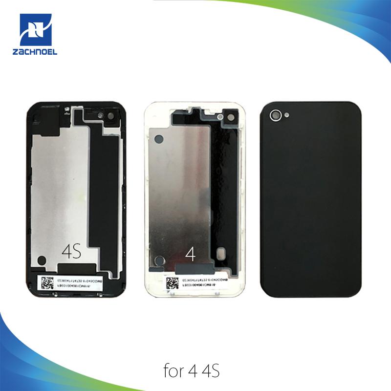 Battery-Cover Replacement 4g-Housing Middle-Chassis iPhone 4 Repair-Parts Rear-Door-Case