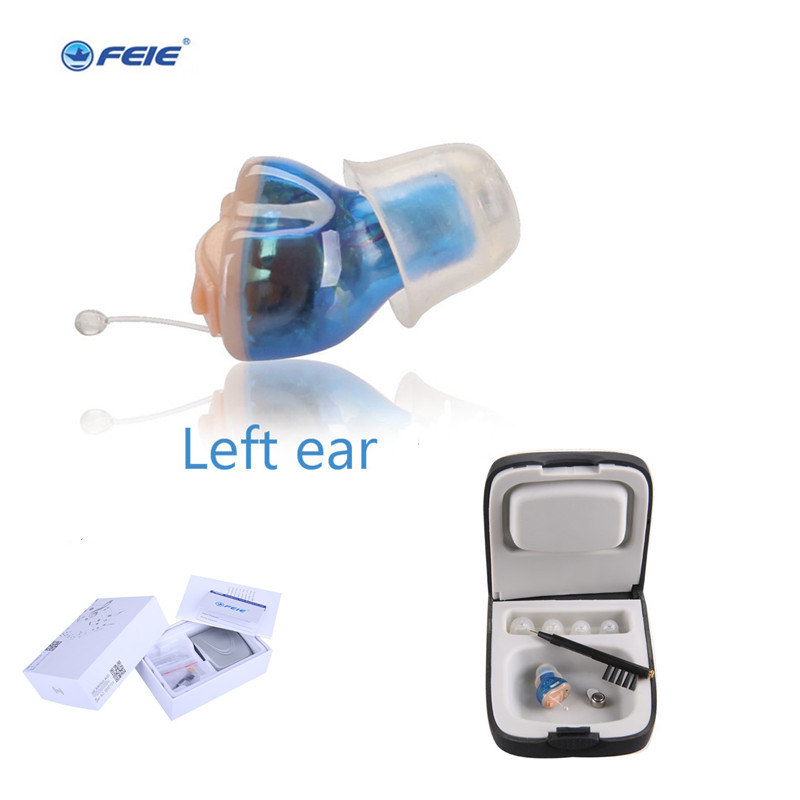 2018 As Seen On TV CIC Mini Conveniet Hearing Headphone Deaf Aid Cheap Price Digital Programme USB S-10A Drop Shipping cheap price mini digital cic hearing aid for moderate hearing loss s 10a free shipping