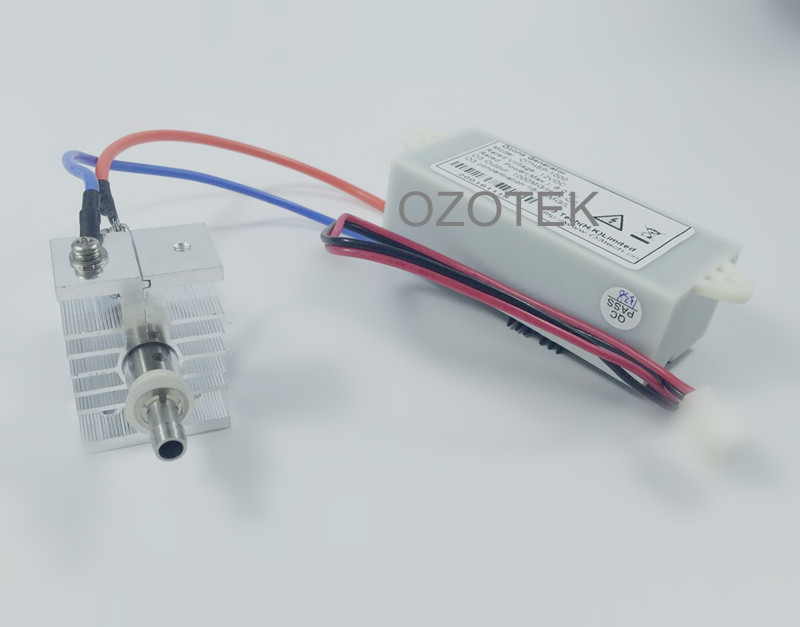 High and stable concentration Ozone generator module quartz tube  135mg/L max. for laboratory