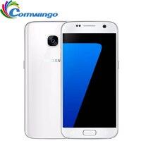 Оригинальный Samsung Galaxy S7 G930F/v/Оперативная память 4 ГБ Встроенная память 32 ГБ разблокирована 4 г LTE gsm android мобильного телефона Octa core 5.1 12MP 3000 мАч