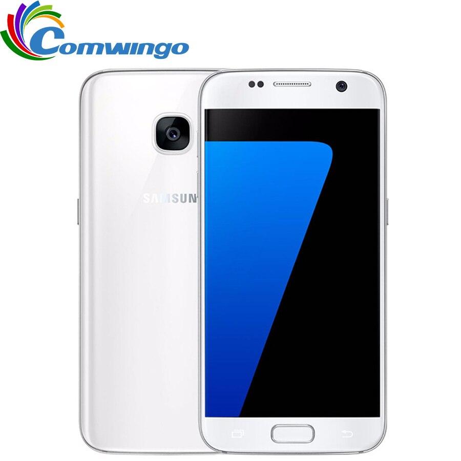 Samsung Galaxy S7 G930F/V/A RAM 4 GB ROM 32 GB débloqué 4G LTE GSM Android téléphone portable Octa Core 5.1