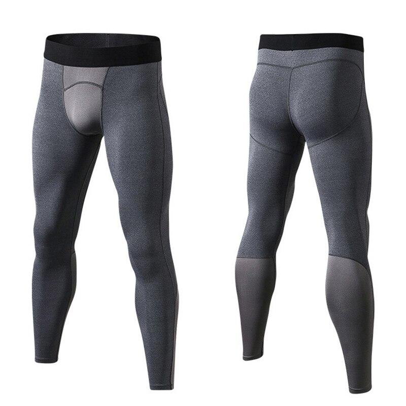 New Compression Pants Men Sportswear Joggers Bodybuilding Trackpants Solid Skinny Tights Crossfit Sweatpants Jogger Pants Men