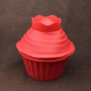 Image 5 - 3pcs/set Single flower shape Cupcake Silicone Mould Heat Resistant Bake tools Baking Maker Silicone Giant Cupcake Mold Hot New